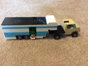 Lego camper build
