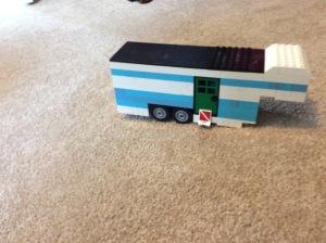 Lego camper exterior