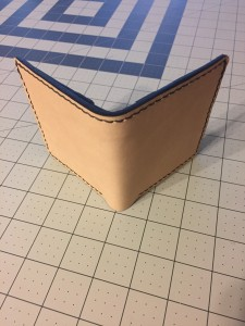 Veg Tan Leather Wallet