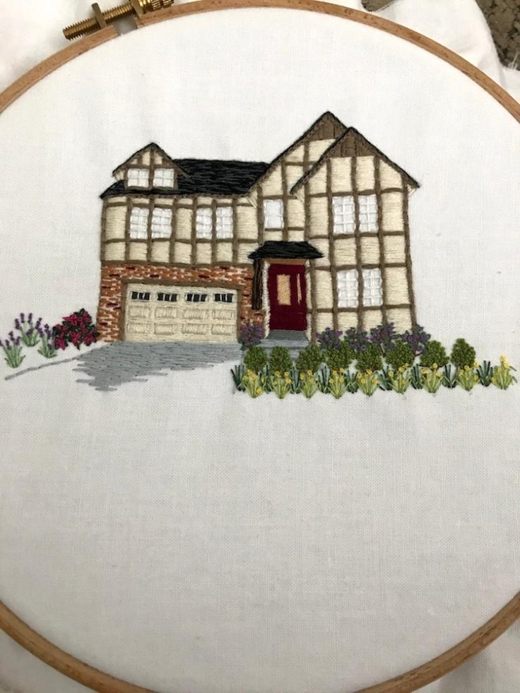 House_embroider_landscape